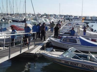 Salou celebra amb una fideuà popular la final del XXXV Concurs de pesca del calamar