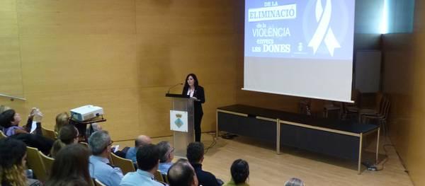 Salou celebra l'acte principal del Dia Internacional per l'eliminació de la violència envers les dones, el 25N