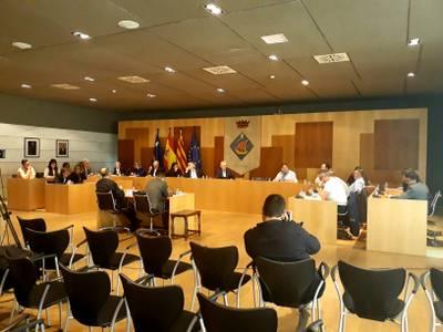 Salou celebra un ple extraordinari monogràfic per debatre el programa d'actuació del govern