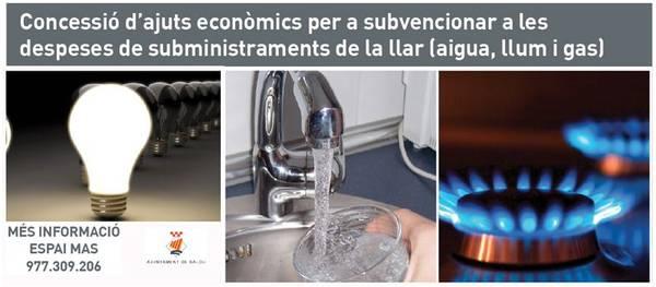 Salou destina 94.000 euros per a la concessió d'ajuts econòmics per a les despeses de subministraments de la llar i la taxa d'escombraries
