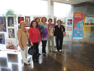 Salou dona suport a les pintores amateur del municipi