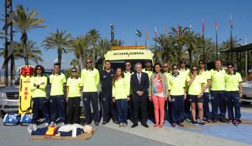Salou engega el dispositiu de salvament i socorrisme a les platges del municipi