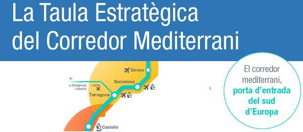 Salou entra a formar part de la Taula Estratègica Catalana del Corredor Mediterrani