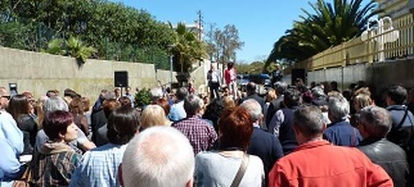 Salou estreny llaços amb la comunitat aragonesa posant el nom de 'Los Fayos' a un nou carrer del municipi