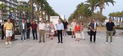 Salou inaugura una important exposició de 15 escultures de gran format de l'artista Martí Rom al Passeig de Jaume I i a la Torre Vella