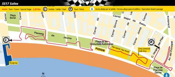 Salou inicia els preparatius per acollir una nova prova urbana de la 51 edició del Rally-RACC