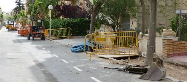 Salou millora el paviment del carril bici del Camí de la Torre i les voreres dels carrers Cambrils, Guillem de Montcada, Guillem de Claramunt i Gandesa