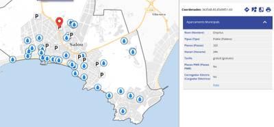 Salou posa en marxa un nou servei de Guia Urbana que permet localitzar 10.000 punts d'interès de la ciutat en un plànol virtual