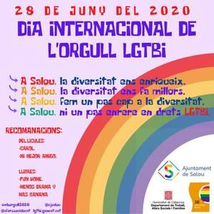 Salou posa en valor els drets del col·lectiu LGBTI, en el marc de la commemoració del Dia de l'Orgull, aquest diumenge, dia 28 de juny