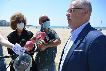 Salou presenta un sistema que permetrà controlar l'ocupació de les platges
