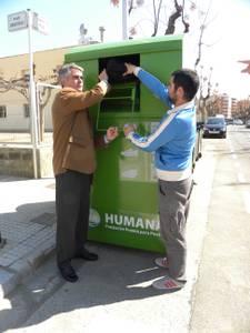Salou recull més de 46 tones de roba de segona mà destinada a la ONG Humana