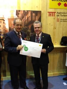 Salou rep de mans del conseller d'Empresa i Ocupació la Destinació de Turisme Esportiu a Fitur