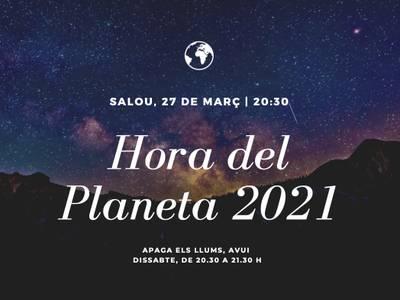 Salou se suma a l'Hora del Planeta, avui dissabte, 27 de març