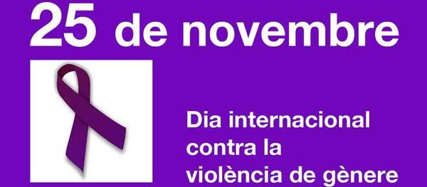 Salou se suma al Dia Internacional per l'eliminació de la violència envers les dones