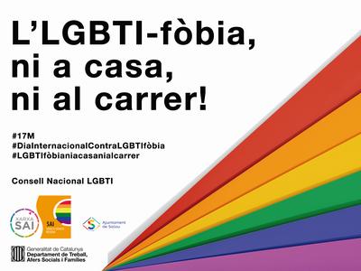 Salou se suma avui diumenge al Dia Internacional contra la LGBTI-fòbia