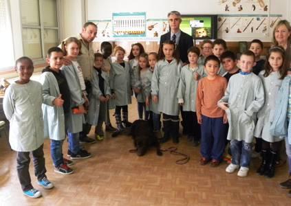 Salou segueix amb el programa de sensibilització sobre la tinença d'animals a les escoles