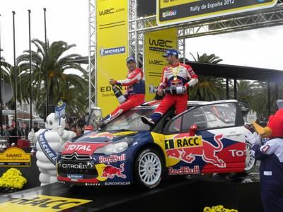 Salou vibra amb el triomf de Loeb en la 48 edició del RallyRACC Catalunya Costa Daurada