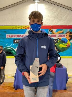 Sandro Portune es proclama subcampió d'Espanya en la classe Techno Juvenil Sub15