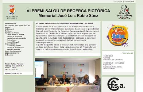 Un total de 127 artistes han participat en el VI Premi de Recerca Pictòrica Memorial José Luís Rubio Sáez
