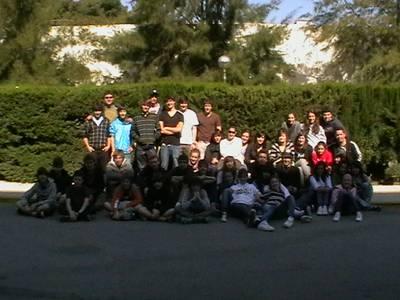 Una cinquantena de joves del CD Fortuna K.E. de San Sebastià estan d'stage a Salou