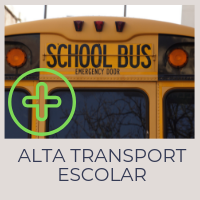Alta transport escolar