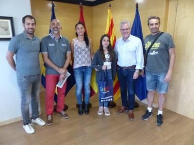 La salouense Gala Sabaté Martín, campeona del mundo en el campeonato del Mundo de Pole Sport Championship Spain 2018