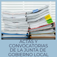 Actas y convocatorias de la Junta de Gobierno Local