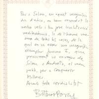 Baltasar Porcel (Conferencia), 3-8-2002
