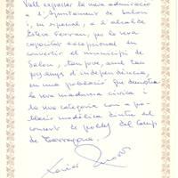 Xavier Amorós, escriptor i poeta, Febrer 1998