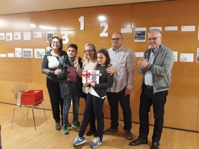Júlia Garcia, ganadora del oro en la 4ª edición del BibliOjOc de Salou