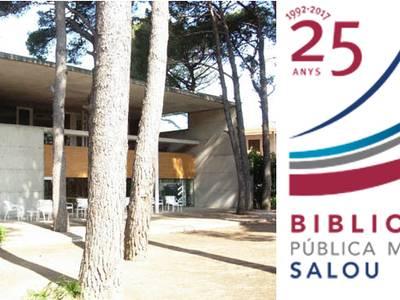 La Biblioteca Pública Municipal de Salou celebra su 25 aniversario con una quincena de actos