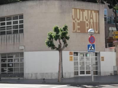 El Juzgado de Paz de Salou permanecerá cerrado hasta nueva orden, con un funcionario / a de guardia para casos urgentes