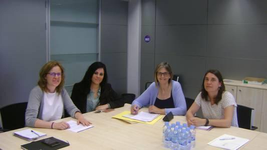 La coordinadora territorial del Instituto Catalán de las Mujeres en Tarragona visita Salou