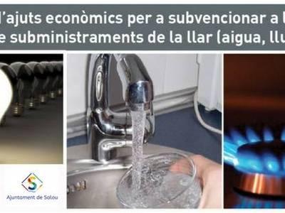 Salou destina 114.000 euros a la concesión de ayudas económicas para los gastos de suministros del hogar
