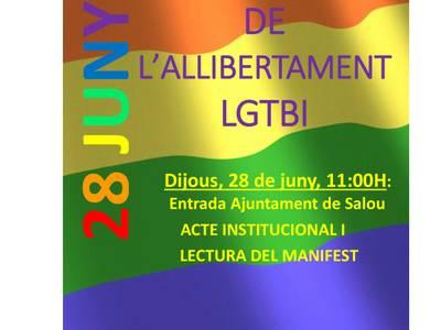 Salou reivindica los derechos del colectivo LGBTI sumándose al Día del Orgullo
