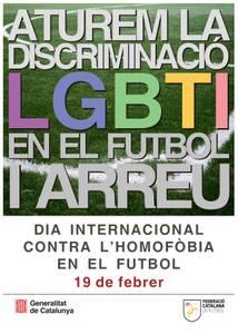 Salou se suma a la lucha contra la homofobia en el fútbol, con mensajes a la población a través de los partidos de fútbol de este próximo fin de semana