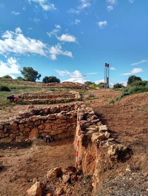 El Ayuntamiento de Salou interviene de emergencia el sector noreste del yacimiento de La Cella debido a las últimas lluvias