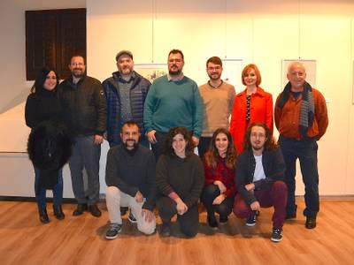 Inaugurada en la Torre Vella de Salou una muestra navideña a cargo de la Asociación de Ilustradores de Tarragona