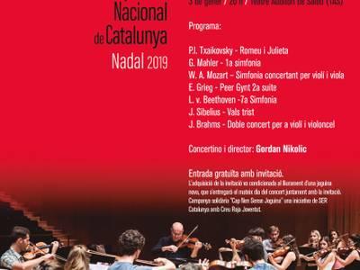 La Jove Orquestra Nacional de Catalunya (JONC) ofrecerá un concierto en Salou a favor de la campaña 'Cap Nen Sense Joguina'