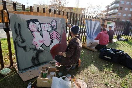 """""""La Navidad desde el Arte urbano"""", nueva exposición colectiva en la Torre Vella"""