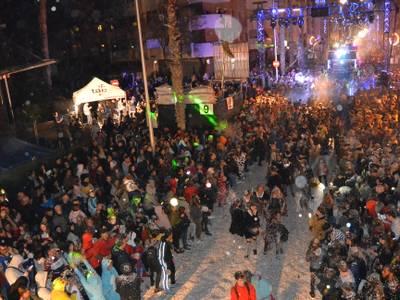 Salou cierra la Festa Major d'hivern 2020 con récord de público en el Cós Blanc