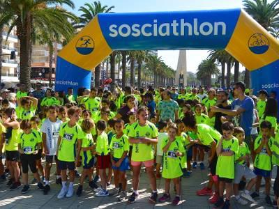 La Sosciathlon en Salou consigue más de 1.600 participantes y recoge 22.000 euros