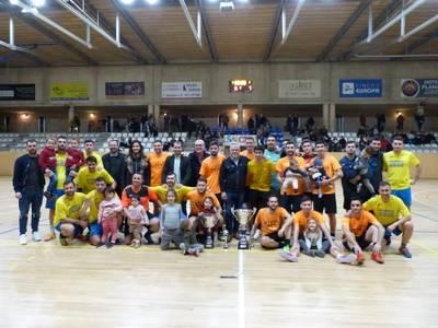 El equipo Can Martín se convierte en el ganador del XXIII Torneo 24 horas de fútbol sala, de la Festa Major d'hivern de Salou 2020
