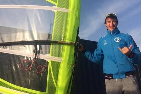 Guillem Segú se proclama Campeón de España Absoluto de la clase olímpica RS:X