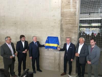 El Ayuntamiento de Salou y la Diputació de Tarragona ponen a punto el Pavelló Salou Centre y la Base Náutica de Salou para acoger las competiciones de los Juegos Mediterráneos