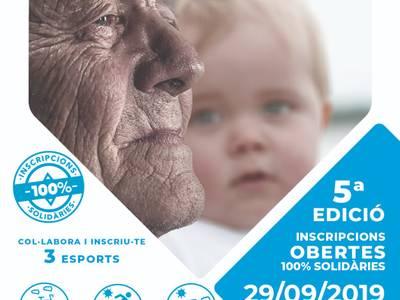 La quinta edición de Sosciathlon llega a Salou, este domingo, para recaudar fondos para la lucha contra el Alzheimer y la parálisis cerebral infantil