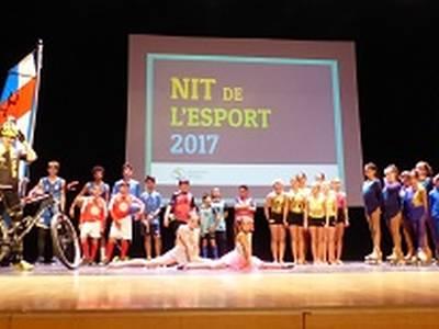 La sexta Noche del Deporte reconoce unos 300 deportistas y los méritos de los grupos durante la última temporada 2017
