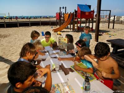 Salou abre la Zona Deportiva y el Club Infantil de playa con la llegada del verano