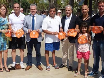 Salou apoya la primera travesía del Golf de Sant Jordi