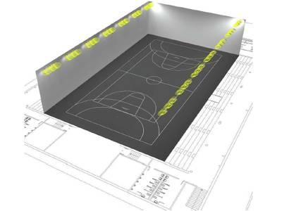 Salou destina más de 46.000 € en la renovación de la iluminación del Pabellón Central